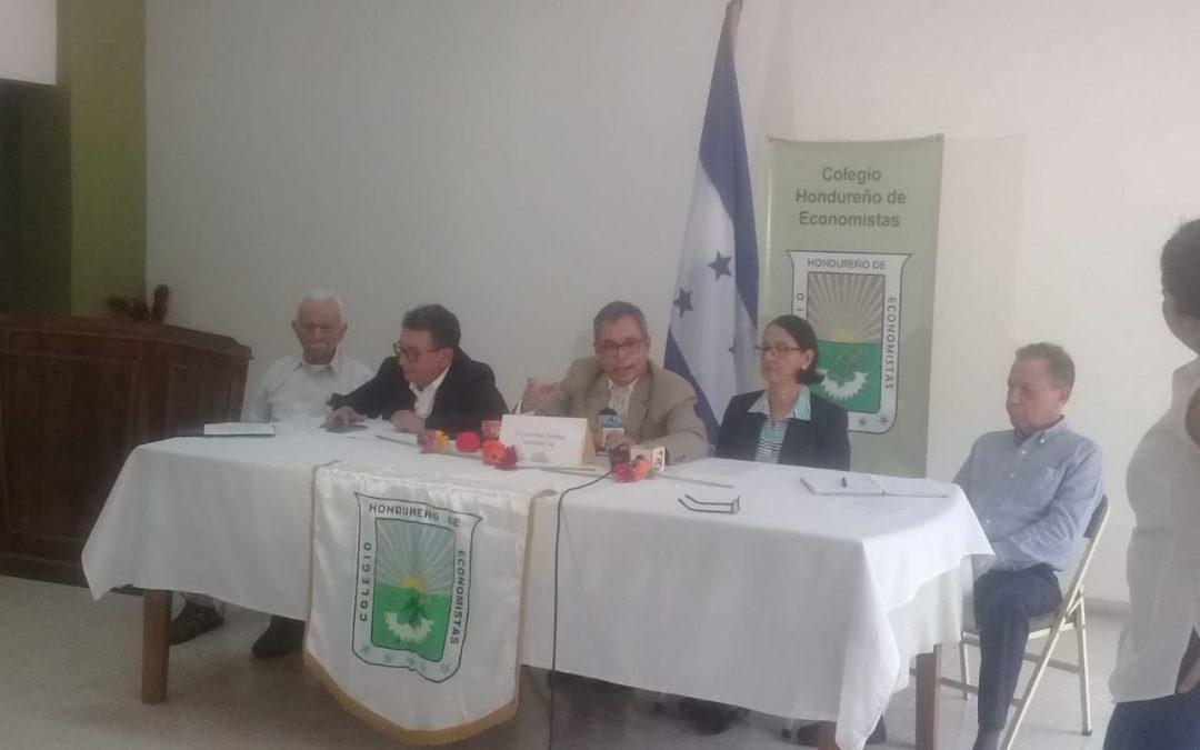 COMUNICADO DEL COLEGIO HONDUREÑO DE ECONOMISTAS