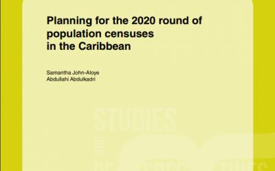 Planning for the 2020 round of population censuses in the Caribbean