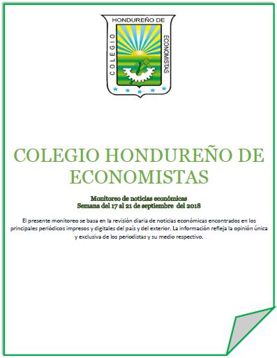 Boletín Informativo del 17 al 21 de septiembre