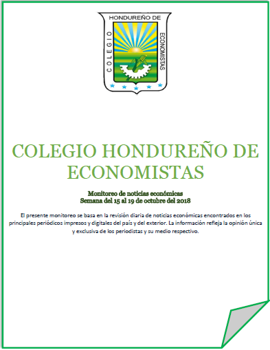 Boletín Económico del 15 al 19 de Octubre