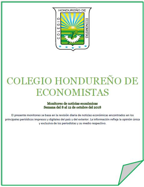 Boletín Económico del 8 al 12 de Octubre